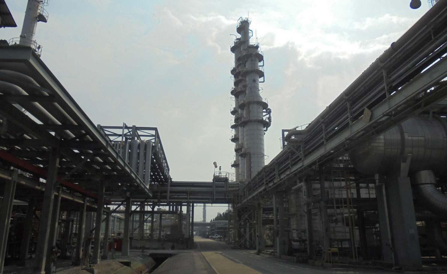 石油化学プラントの環境サイトアセスメント(フェーズ1調査)